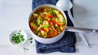 Supă de varză – rețeta pentru slăbit, perfectă în post. Gata în 30 de minute!