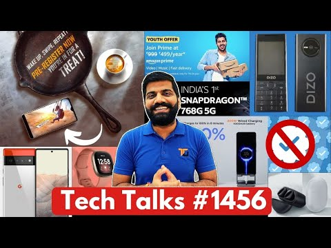 Tech Talks #1456 - BGMI File Size & Requirements, Twitter Verified, DIZO Jio 5G, iQoo Z3, Pixel 6Pro