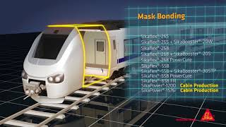 Sika Solutions for Rail Vehicle Production