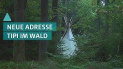 Leben im Wald: So lebt der Odenwald Tipianer | BAUEN & WOHNEN