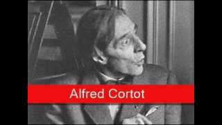Alfred Cortot: Chopin - Waltz No. 1 in E flat major