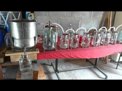 видео: Самодельный самогонный аппарат