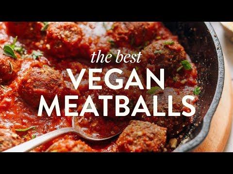 The Best Vegan Meatballs | Minimalist Baker Recipes