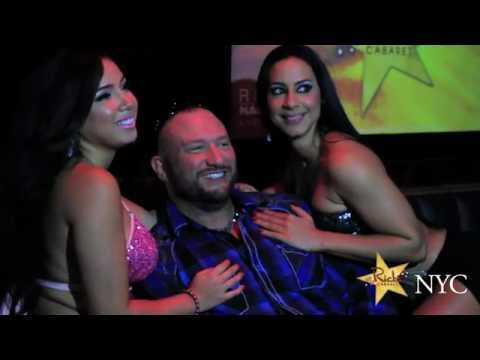 TnA wrestler Bully Ray's bachelor party at Rick's Cabaret NY