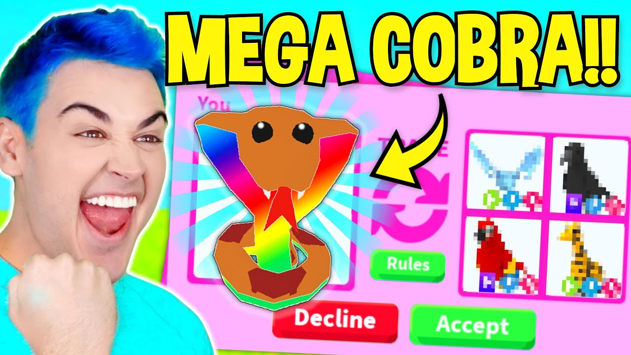Download What People TRADE For *MEGA NEON COBRA* In Adopt Me !! Roblox Adopt Me Trading Proofs & RICH TRADES