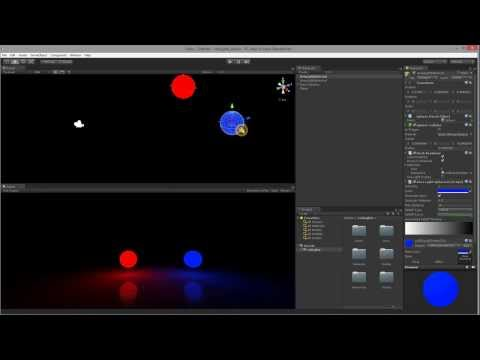 Basic Tutorial redLights SSAL - Realtime Screen Space Area Lights in Unity3D