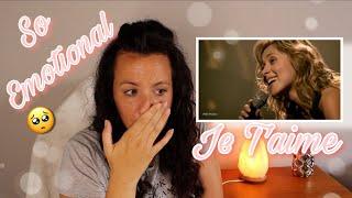 Reacting to Lara Fabian - Je t'aime - Live in Paris, 2001   SO EMOTIONAL 😢    REACTION