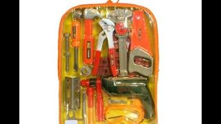 Набор инструментов в рюкзаке(Купить можно тут http://7sundukov.com/p495991257-mashina-metall-mercedes.html Игровые Наборы http://7sundukov.com/g9774483-igrovye-nabory ..., 2017-02-17T13:01:42.000Z)