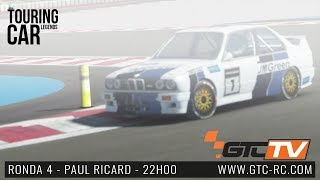 Virtual Touring Car Legends 2018 - Ronda 4 - Paul Ricard by GTC