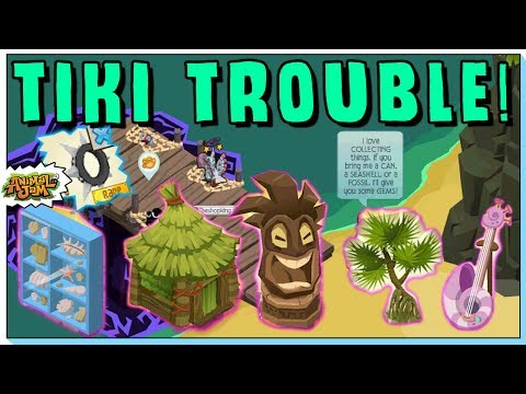 CAN YOU GET SPIKES FROM TIKI TROUBLE? NEW ANIMAL JAM ADVENTURE PRIZES REVEALED!