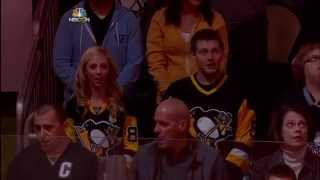 Jeff Jimerson Sings Both Anthems - Pittsburgh Penguins vs. Philadelphia Flyers - Oct 22, 2014