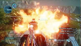 SAO Fatal Bullet 2018 - Abyss Guide Monster Bloodstone farming