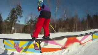 Ski Butternut GoPro HD Terrain Park 2011