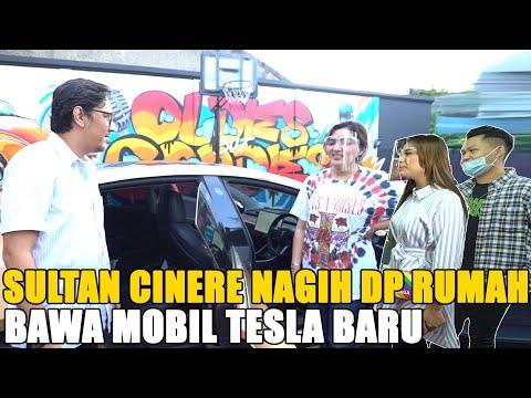 Sultan Cinere Datang Ke Bintaro Nagih Dp Rumah.. Mobil Tesla Barunya Keren Banget