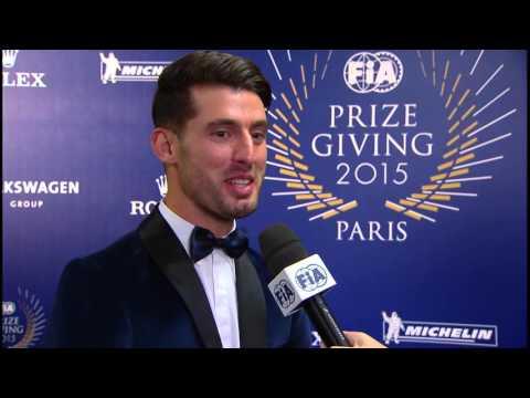 2015 FIA Prize Giving - José María López interview