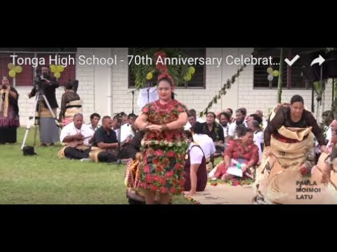 Tonga High School - 70th Anniversary Celebration - Royal Entertainment & Speeches