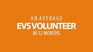 Infographic Of An EVS Volunteer