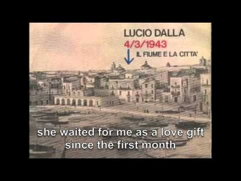 4/3/1943 by Lucio Dalla ( english subtitles )