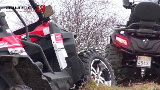 CF Moto Gladiator X550 a Gladiator Z8 V-Twin - promo video Journeyman