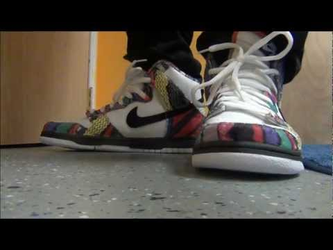 competitive price a9c7e 95d67 Nike SB Dunk High Biggie Smalls / Huxtable Dunk High Sneaker ...