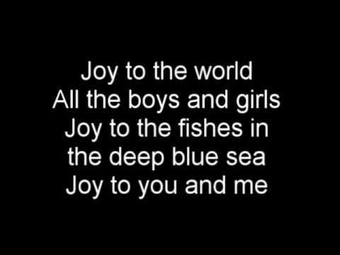 Joy to the world (Jeremiah was a bullfrog) - Karaoke