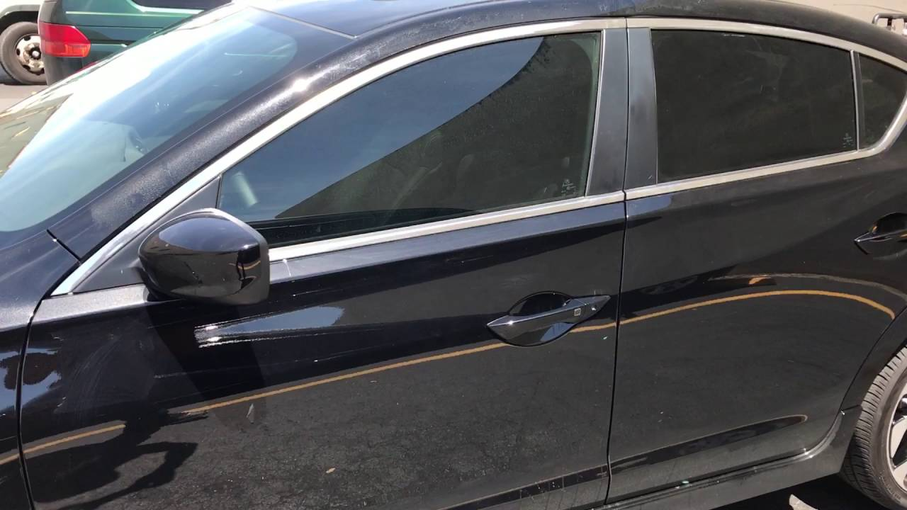Acura Ilx 2017 Window Tinting With 25 And 30 Fx Premium