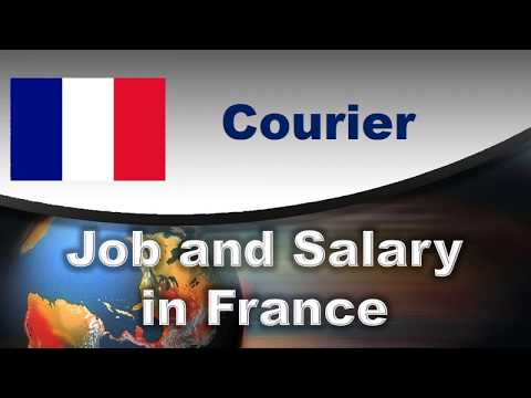 Courier Job and Salary in France - Jobs and Wages in France