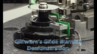 Gillware Data Recovery - Glide Burnish Machine Demonstration