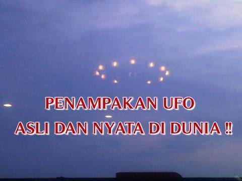 """VIDEO PENAMPAKAN """"UFO ASLI DAN NYATA DI DUNIA"""" YANG AKAN ..."""