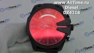 Обзор. Мужские наручные часы Diesel DZ4318 с хронографом