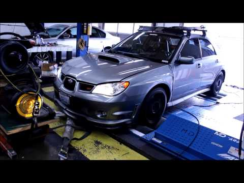 07 STI LIMITED DYNO TUNE