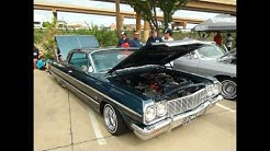 Boulevard Aces Car Club Lowrider Car Show @ Bikinis Restaurant Dallas Texas 2014