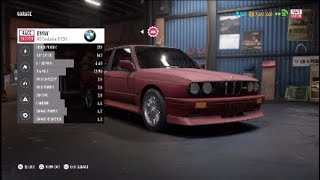 Need For Speed: Payback | BMW M3 Evolution II E30 Abandoned Car Location & Build