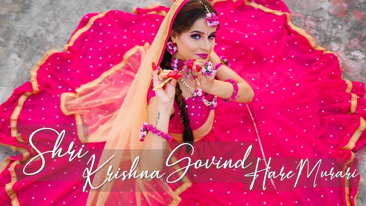 Download Shree Krishna Govind Hare Murari | Kanishka Talent Hub Dance Video | Happy janmashtami 🦚
