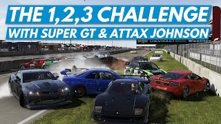 Forza 6│The 1,2.3 Challenge With Super GT & aTTaX Johnson!