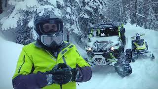 Снегоходы, Квадроциклы на гусеницах! Ski-doo! Инстаграмы 2 серия