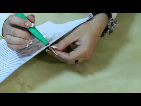 Как прошить тетрадь ниткой пошагово