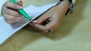 Как правильно прошить и опечатать документ(В видеоролике дана пошаговая инструкция как быстро и аккуратно прошить и опечатать кадровый документ., 2015-05-07T00:03:05.000Z)