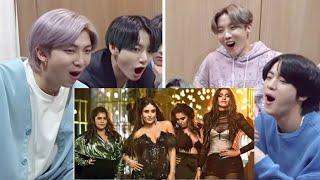 BTS Reaction To Bollywood Songs|| Tareefan-karina Kapoor, Sonam Kapoor, Badshah song Reaction||