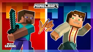 Minecraft  - Steve Vs Jesse [Original Minecraft Xbox Skit]
