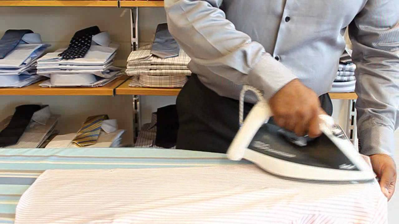 how to iron a shirt youtube. Black Bedroom Furniture Sets. Home Design Ideas