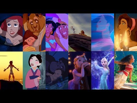 Soundtracks en español latino:  Temas de Disney 1989-