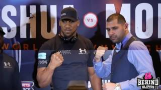 RESPECT SHOWN! JOSHUA AND MOLINA FACE OFF AT FINAL PRESS CONFERENCE
