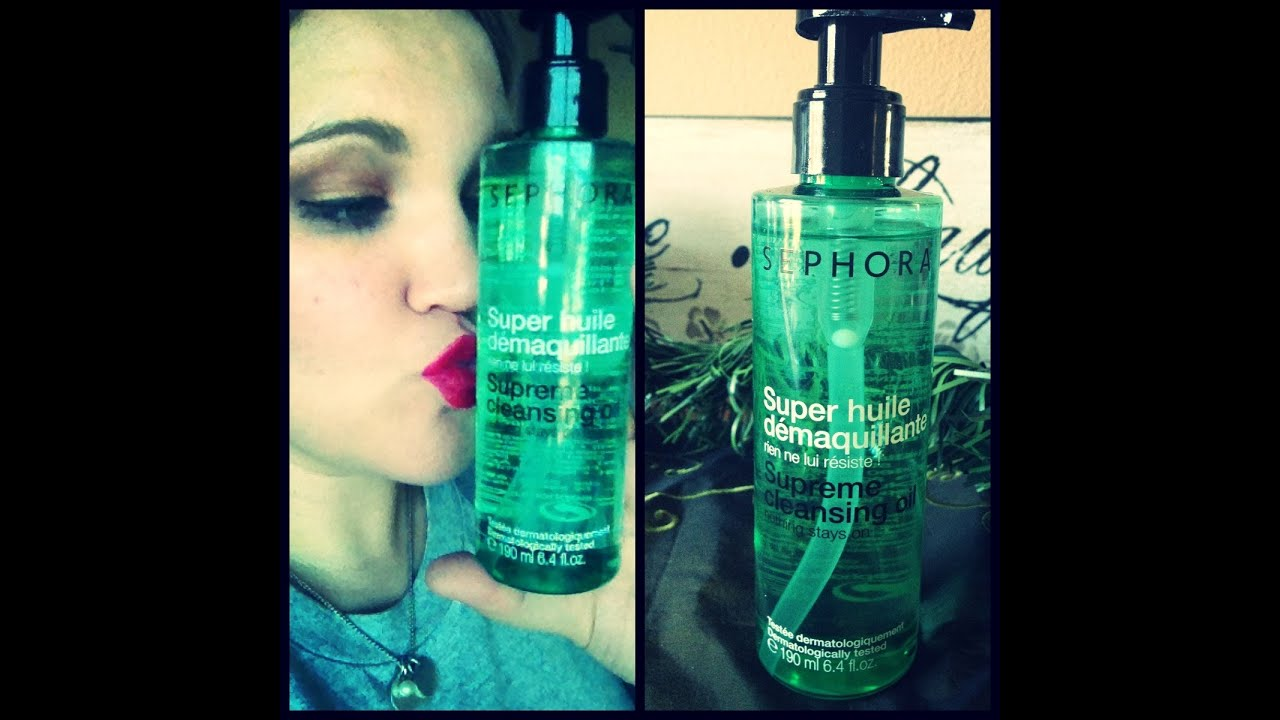 Weekly Product Rave Sephora Supreme Cleansing Oil
