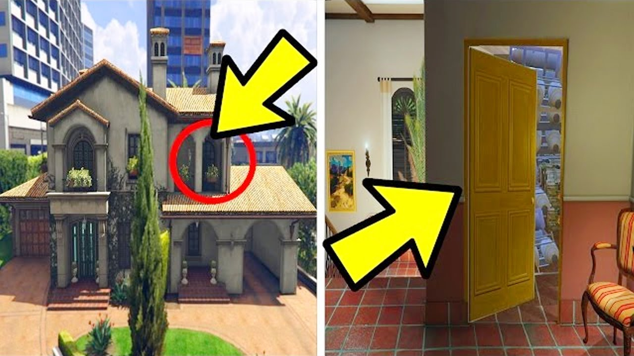 Gta 5 la stanza segreta nella casa di michael youtube for Casa di 3 stanze