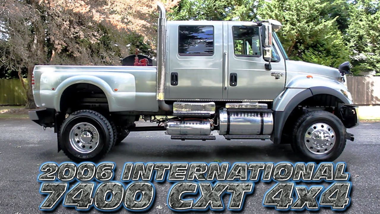 2006 International 7400 Cxt 4x4 Only At Northwest Motorsport Youtube