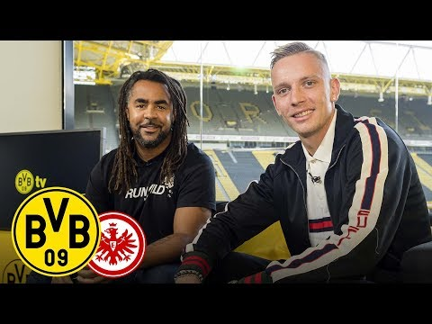 Marius Wolf joins BVB Matchday Magazine | BVB - Eintracht Frankfurt | Matchday 3