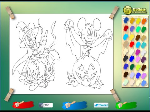 Mickey Mouse Disney Coloring Games