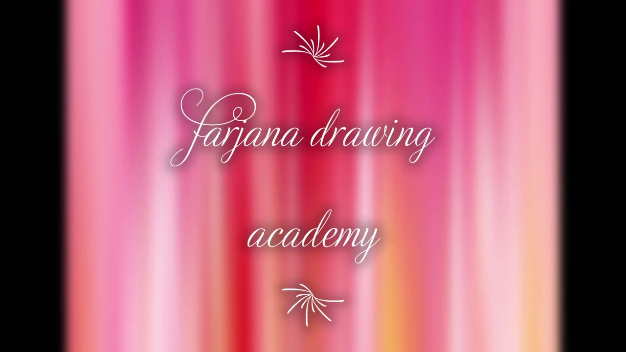 my recreations of farjana drawing academy part2 - YouTube