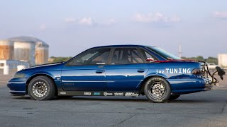 He created the worlds only 1,000HP Ford Taurus SHO!